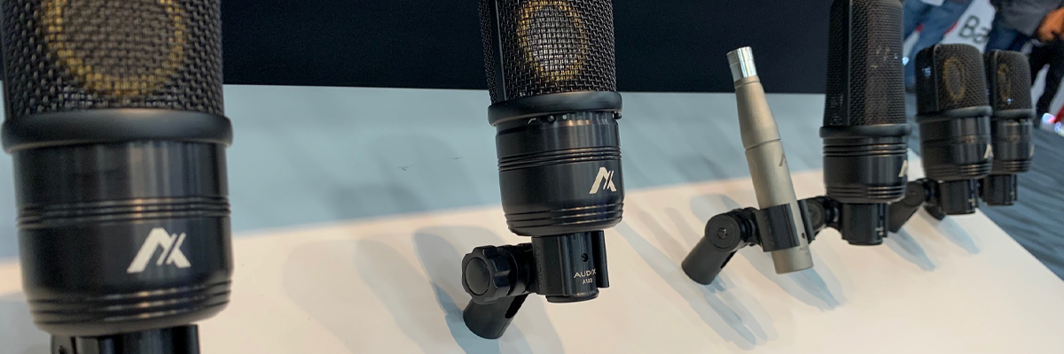 New condenser microphones released from Audix USA