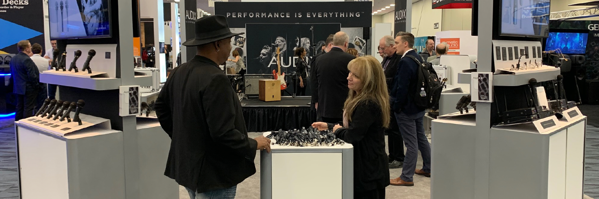 Brand new Audix products launched at the 2020 Winter NAMM Show
