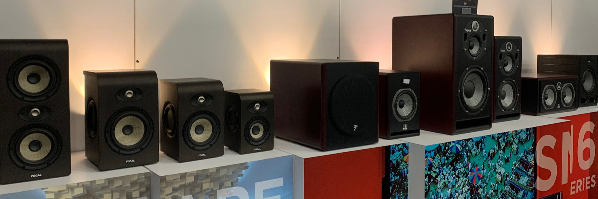 Focal's full product range on show at Winter NAMM 2020