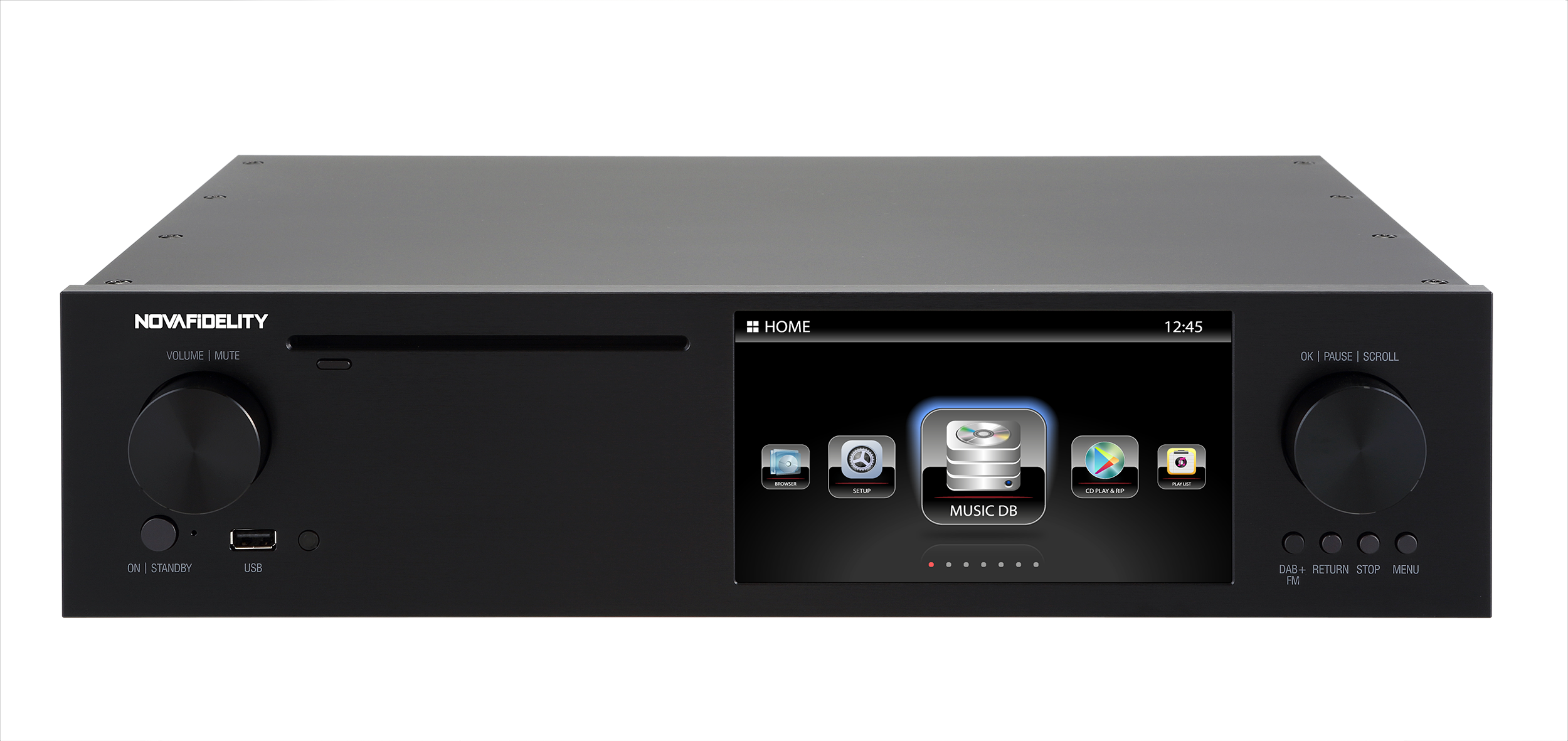 Novafidelity X50D Pure Digital Music Streamer | SCV Distribution