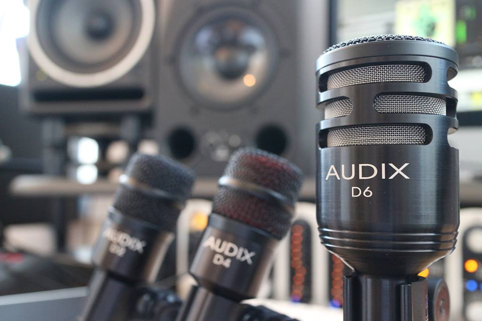 Audix's D6, D4 and D2 Instrument Microphones