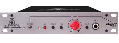 Black Lion Audio B12a - API 312a style American preamp