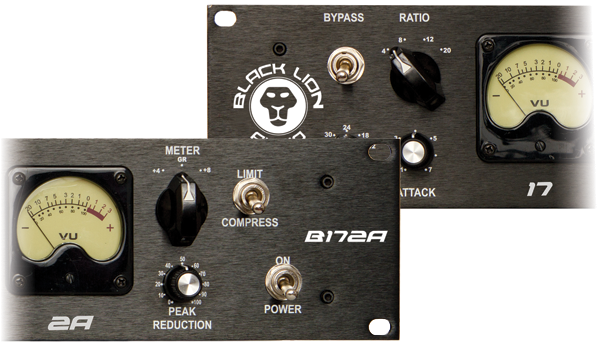 Black Lion's B172a features both a Seventeen and 2A circuit