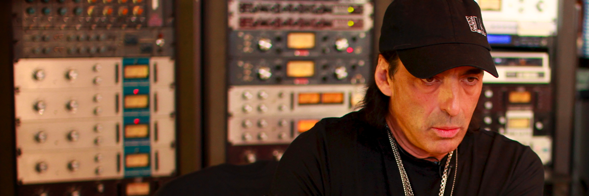 Chris Lord-Alge at Mix LA with four classic 1176 compressors