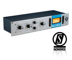 Black Lion's Bluey Compressor - nominated in the SOS Awards 2021