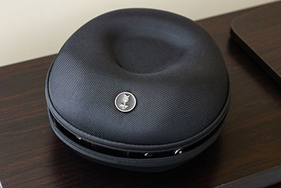 Nato-style material case included as standard with the 99 Neo Meze Audio headphones