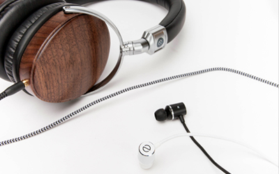 Even H1 over-ear and E1 in-ear headphones featuring EarPrint technology