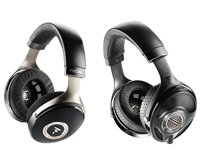 Focal's High-End Headphone range (left to right: Elear, Utopia)