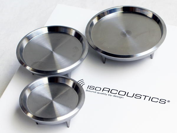 Carpet spike accessories for IsoAcoustics GAIA isolators