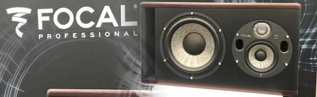 Focal's brand new Trio11 Be 2 and 3-way studio monitor, preseted at Winter NAMM 2019