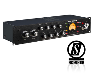 Black Lion's Eighteen studio mono channel strip – nominated in the effects and processing hardware category for SOS's 2021 Awards
