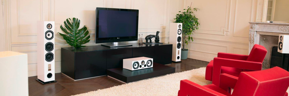 Triangle's affordable ESPRIT range can be configured into a 5.1 or full home theatre system