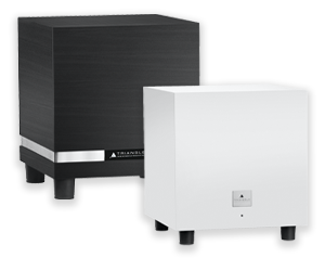 Tales and Thetis subwoofer models from Triangle